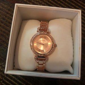 NEW IN BOX Folio Rose Gold Watch